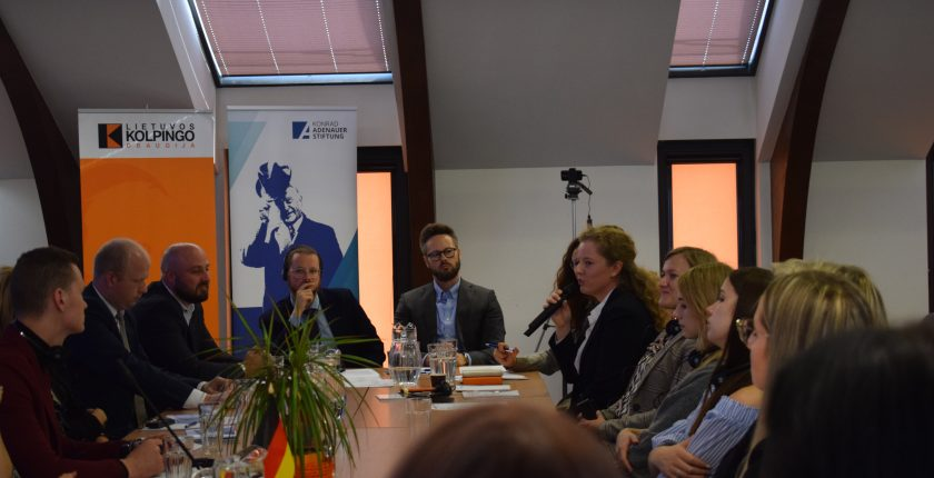 """Discussion """"Vocational Training 4.0 – Is Kaunas Ready for It?"""" was held"""