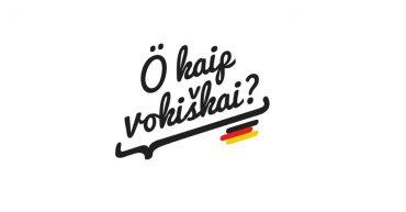 O kaip vokiškai