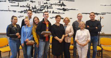 Svečias - Ekoturizmo programos II kurso paskaitose